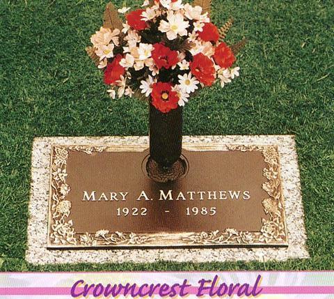 Matthews Bronze Flush Marker 2