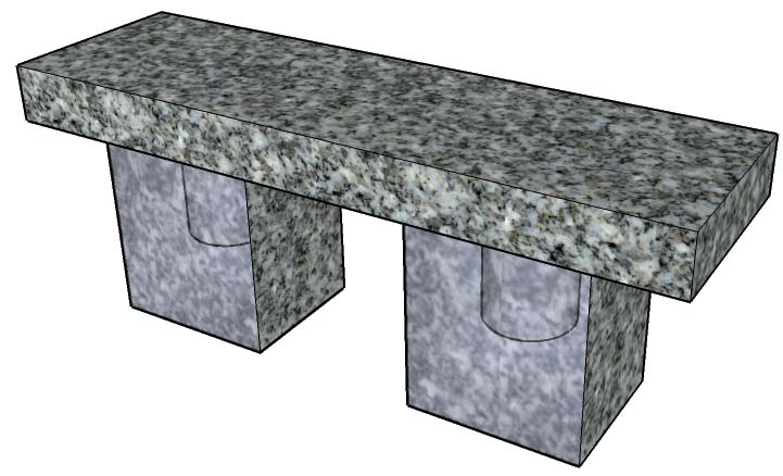 Cremation Bench 1