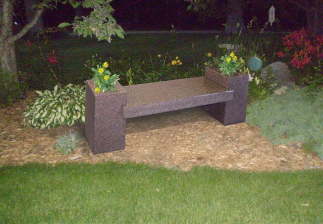 Cremation Bench 2