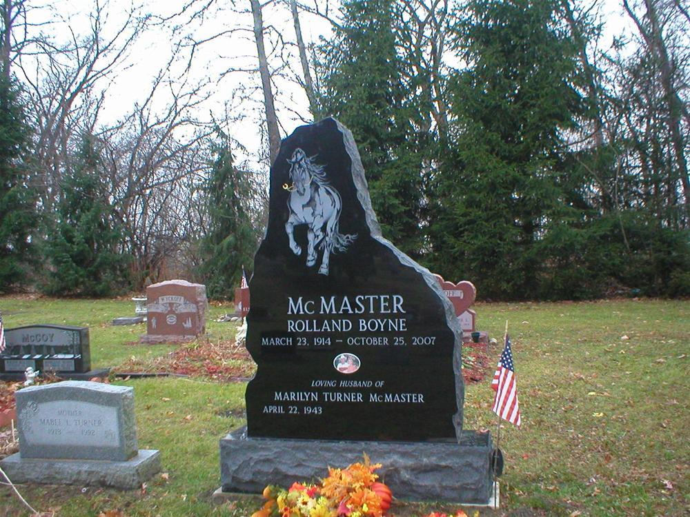 McMaster Random Mountain Shape Tablet