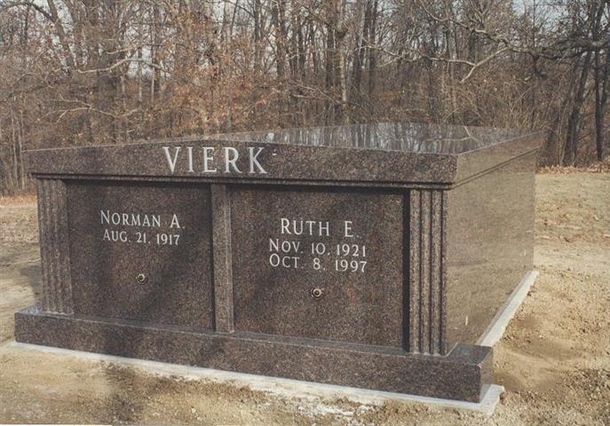 Vierk Double Mausoleum