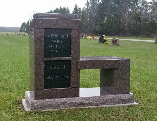 Wong Li Cremation Bench